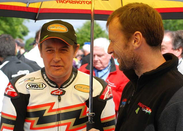 John McGuinness Explains a Lap Around the Isle of Man TT IOMTT 2012 08 635x456