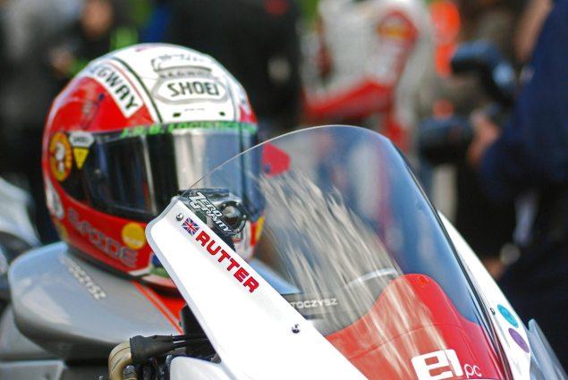 IOMTT: Rutter Posts Unofficial TT Zero 100+ MPH Lap Michael Rutter MotoCzysz E1pc qualifying grid 635x425