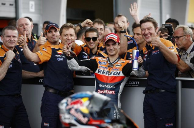Monday Addendum at Sachsenring: Sometimes, The Winner Gets Overlooked Dani Pedrosa HRC Sachsenring MotoGP 635x421