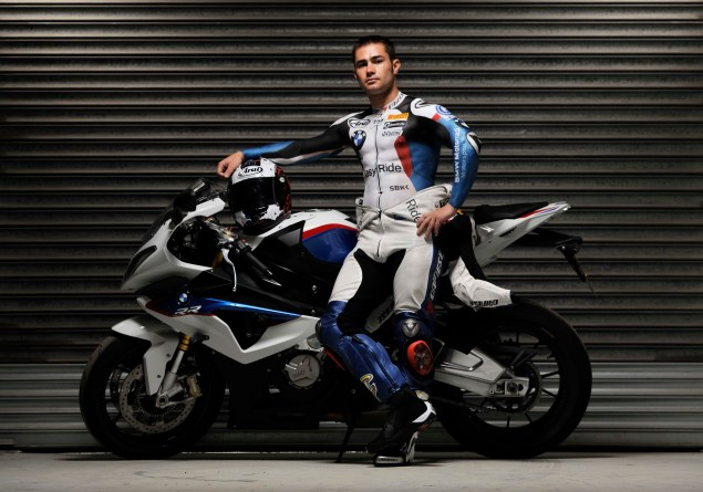 Leon Haslam Strips Down to Promote WSBK at Silverstone Leon Haslam body paint WSBK Silverstone 03 635x445