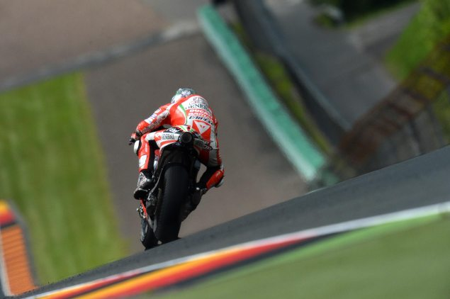 Saturday Summary at Sachsenring: Why the Ducatis Arent Fast in the Wet & Why Germany Could Be Happy on Sunday Nicky Hayden Sachsenring MotoGP 635x422