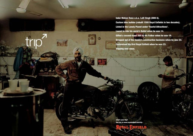 Royal Enfield Understands Motorcycle Branding Royal Enfield Tripping ads 05 635x448