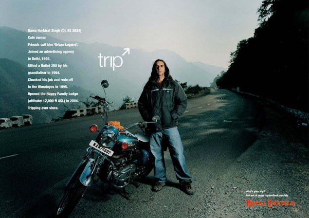 Royal Enfield Understands Motorcycle Branding Royal Enfield Tripping ads 06 635x448