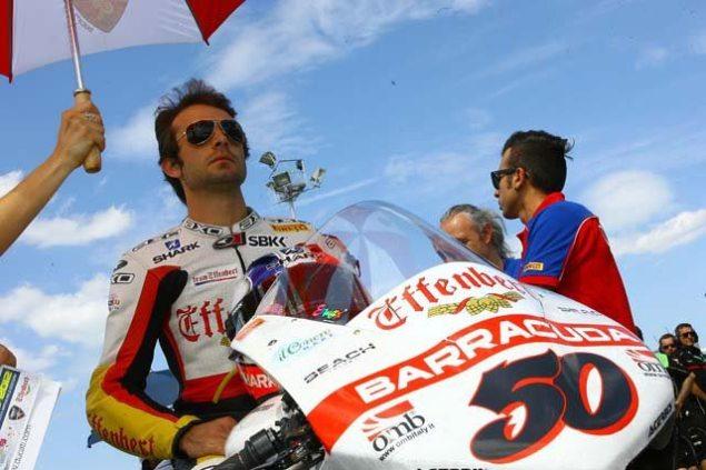 WSBK: Sylvain Guintoli & Liberty Racing Part Ways Sylvain Guintoli Effenbert Liberty Ducati WSBK 635x423
