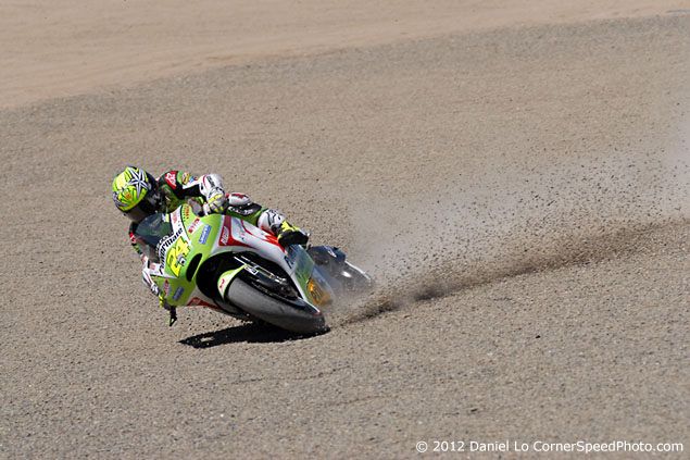 Trackside Tuesday: Third Times the Charm? toni elias crash laguna seca 635 7