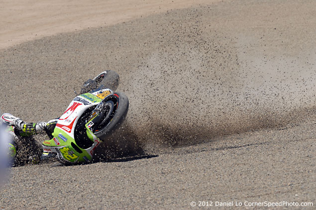 Trackside Tuesday: Third Times the Charm? toni elias crash laguna seca 635 9