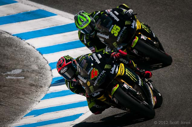 Trackside Tuesday: A Tale of Two Teammates Cal Crutchlow Andrea Dovizioso MotoGP Laguna Seca Scott Jones 01