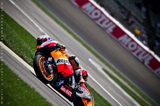 MotoGP: Casey Stoner Questionable for Indianapolis GP Indianapolis GP Friday Jules Cisek 111 635x423
