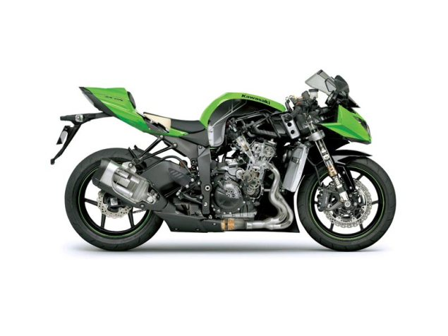 2013 Kawasaki Ninja 300 Outed   Team Greens Answer for a Small Displacement Sport Bike in the USA? Kawasaki Ninja ZX 6R cutaway 635x476