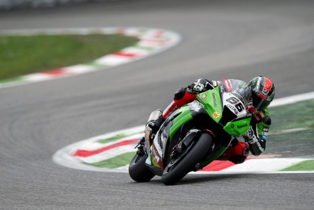 WSBK: Kawasaki Retains Tom Sykes for 2013 Season Tom Sykes Kawasaki Monza 635x425