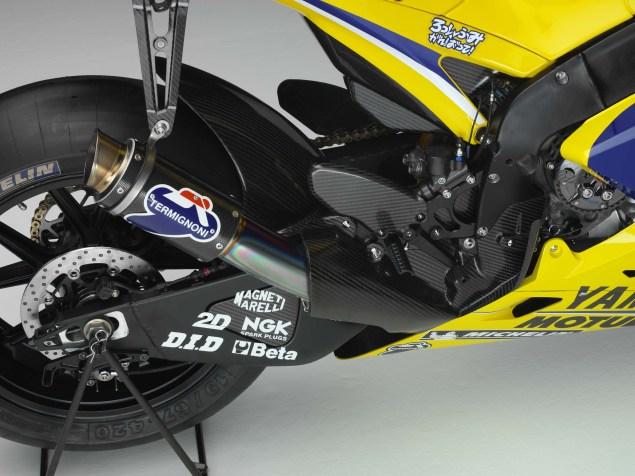 XXX: Valentino Rossis 2006 Yamaha YZR M1 Valentino Rossi 2006 Yamaha YZR M1 hi res 05 635x476