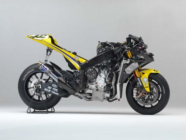 XXX: Valentino Rossis 2006 Yamaha YZR M1 Valentino Rossi 2006 Yamaha YZR M1 hi res 10 635x476
