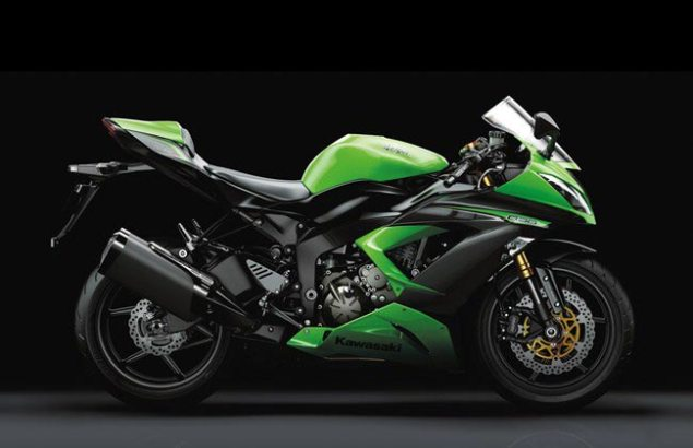 New Kawasaki Ninja ZX 6R Gets Traction Control for 2013 2013 Kawasaki Ninja ZX 6R1 635x410