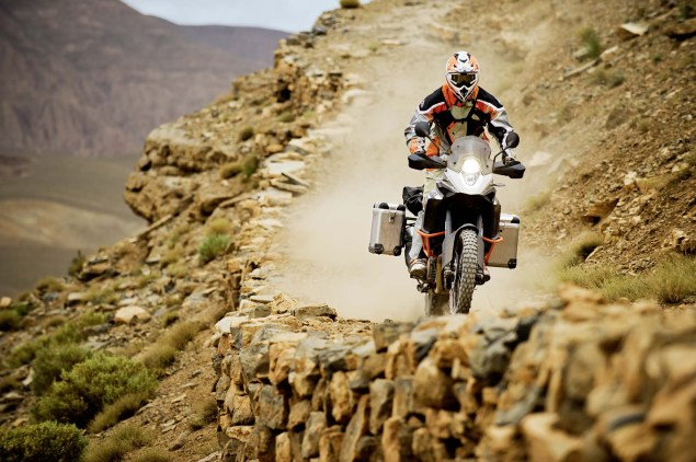 35 Photos of the KTM 1190 Adventure 2013 KTM 1190 Adventure R action 09 635x422