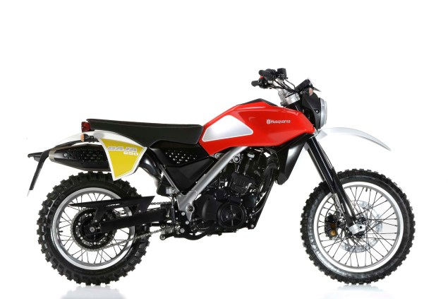 Husqvarna Baja Concept Gets Closer to Reality 2013 Husqvarna Baja 650 concept 11 635x423