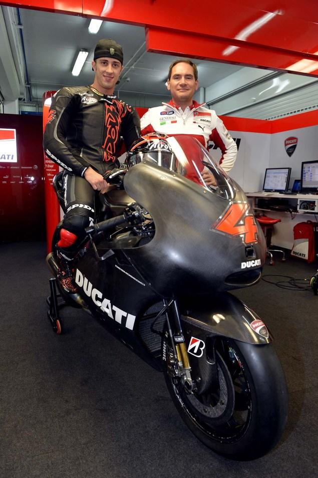 MotoGP: Dovi Meets the Desmo Andrea Dovizioso Ducati Corse Desmosedici GP13 06 635x954