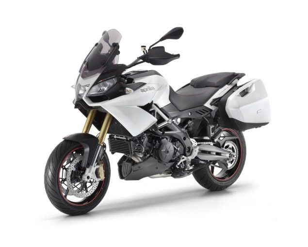 Say Hello to the 2013 Aprilia Caponord 1200...Again Aprilia Caponord 1200 white 635x508