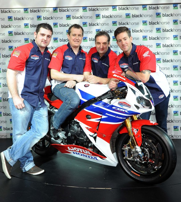 Honda TT Legends Fields Dream Team for 2013 2013 Honda TT Legends Team Launch 01 635x707