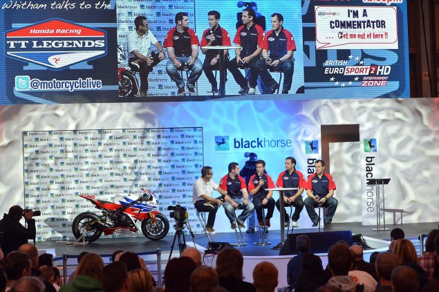 Honda TT Legends Fields Dream Team for 2013 2013 Honda TT Legends Team Launch 04 635x422