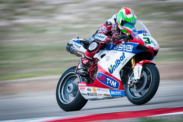 WSBK: Althea Racing Switches to Aprilia for 2013 Season Davide Giugliano Althea Racing WSBK Scott Jones
