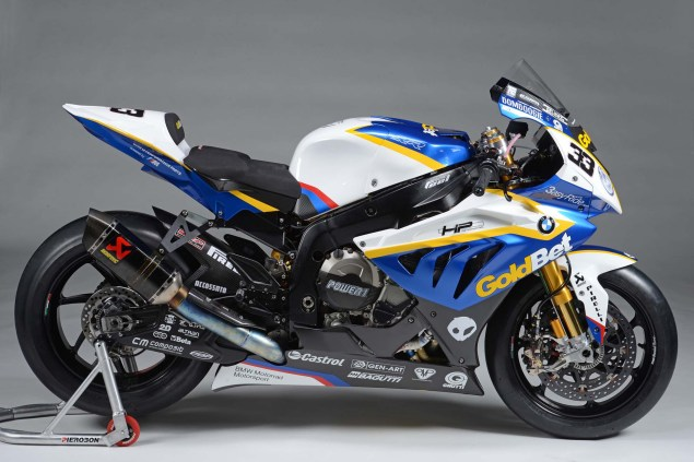 XXX: BMW Motorrad GoldBet WSBK Spec S1000RR 2013 BMW S1000RR Goldbet WSBK Team 01 635x423