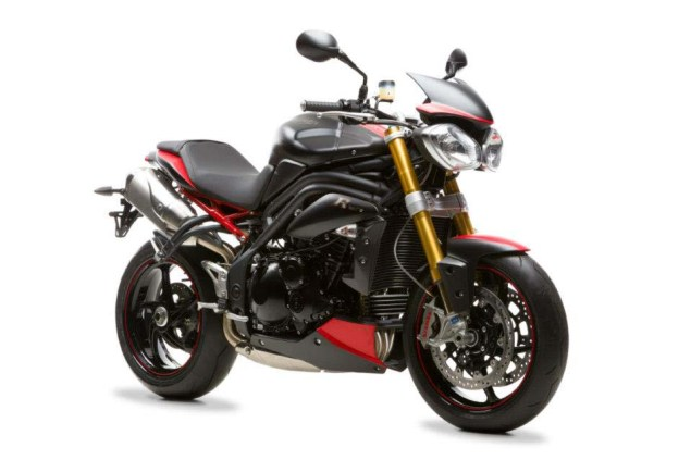 Only 30 Triumph Speed Triple R Dark Bikes for the UK 2013 Triumph Speed Triple R Dark 09