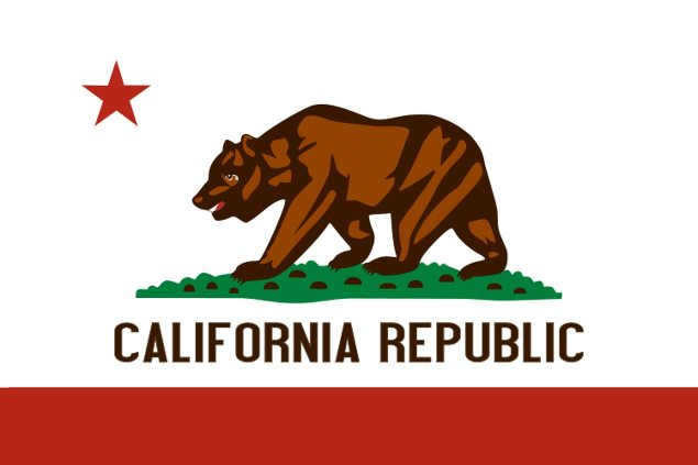 California Scraps Anti Lane Splitting Law California State Flag 635x423