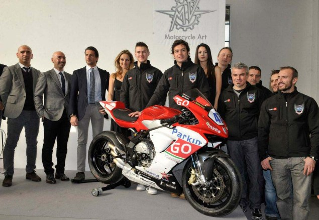 This is the MV Agusta Corse ParkinGO Supersport Race Bike MV Agusta F3 Corse Parkingo Supersport 04 635x438