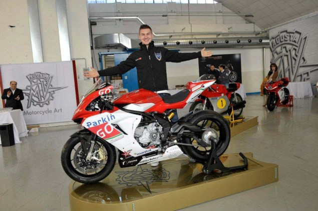This is the MV Agusta Corse ParkinGO Supersport Race Bike MV Agusta F3 Corse Parkingo Supersport 12 635x422