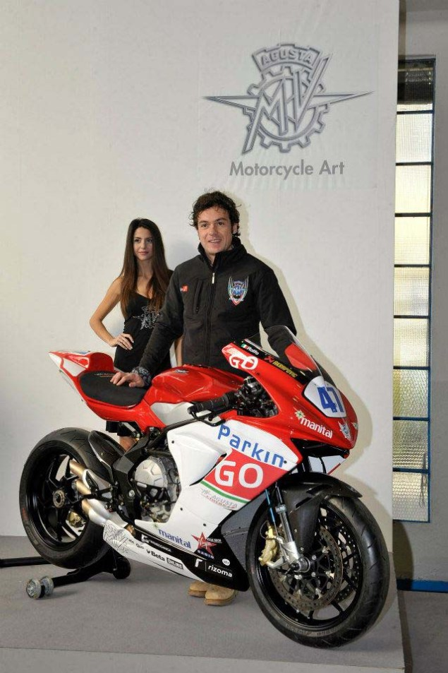 This is the MV Agusta Corse ParkinGO Supersport Race Bike MV Agusta F3 Corse Parkingo Supersport 13 635x953