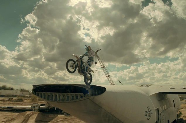 Video: Robbie Maddison + Airplane Graveyard = Air.Craft Robbie Maddison Air Craft video 635x422