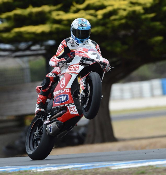 WSBK: Qualifying Results from Phillip Island carlos checa wsbk qualifying phillip island 635x672