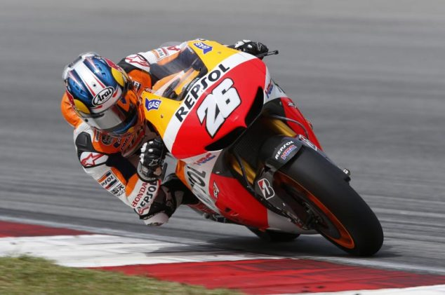 MotoGP Sepang Test – Day 3: Enter the Factory Prototypes dani pedrosa repsol honda sepang motogp test