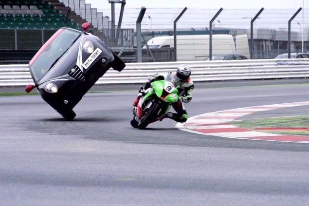 Video: A Whole New Meaning to Passing on the Inside wsbk silverstone alfa romeo bike pass stunt 635x423