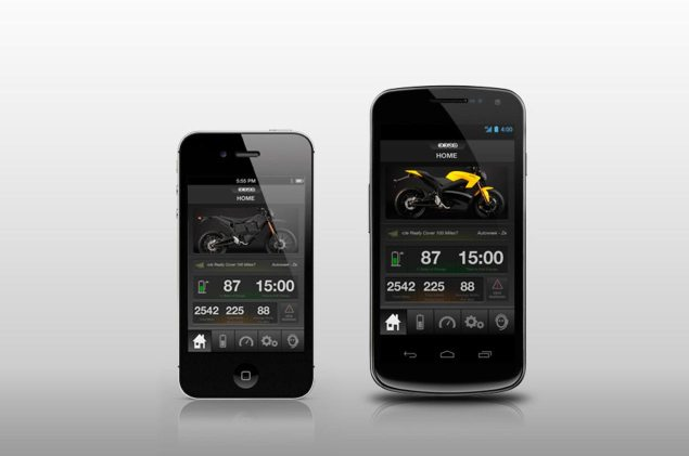 Zero Motorcycle? Theres an App for That zero motorcycle app 635x421
