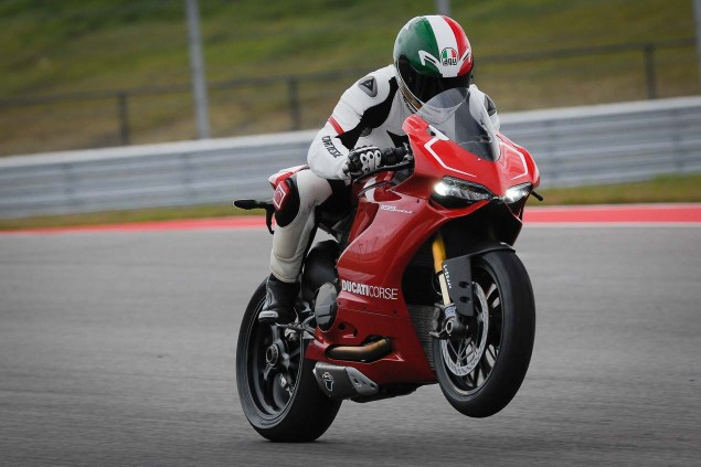Ride Review: Ducati 1199 Panigale R Ducati 1199 Panigale R Launch COTA Jensen Beeler 07 635x423