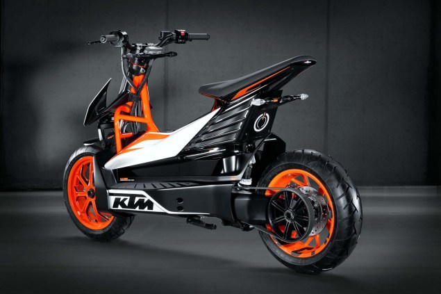 KTM E Speed   An Electric Scooter from Austria KTM E Speed electric scooter concept 01 635x423