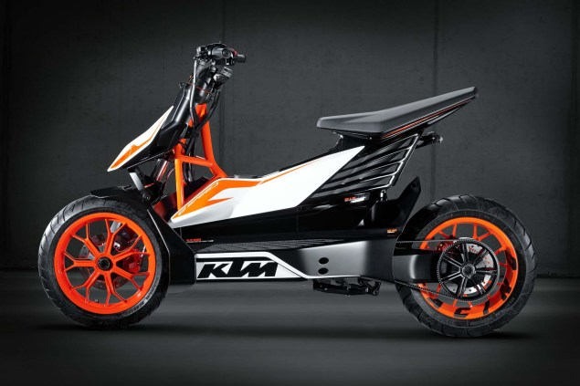 KTM E Speed   An Electric Scooter from Austria KTM E Speed electric scooter concept 04 635x423