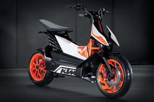 Report: KTM Abandons Electric Scooter Project KTM E Speed electric scooter concept 06 635x423