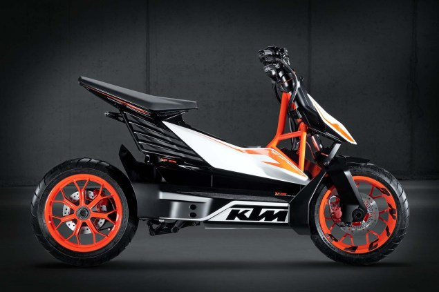 KTM E Speed   An Electric Scooter from Austria KTM E Speed electric scooter concept 08 635x423