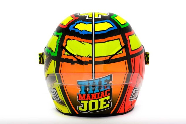 Photos: The Five AGV Pista GP Helmets in MotoGP AGV Pista GP MotoGP Andrea Iannone 2 635x423