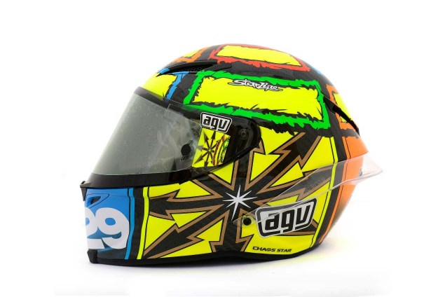 Photos: The Five AGV Pista GP Helmets in MotoGP AGV Pista GP MotoGP Andrea Iannone 6 635x424