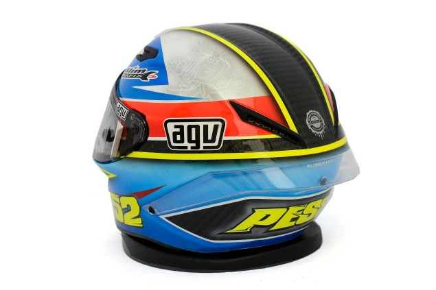 Photos: The Five AGV Pista GP Helmets in MotoGP AGV Pista GP MotoGP Lukas Pesek 3 635x423