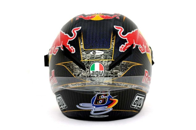 Photos: The Five AGV Pista GP Helmets in MotoGP AGV Pista GP MotoGP Stefan Bradl 02 635x423