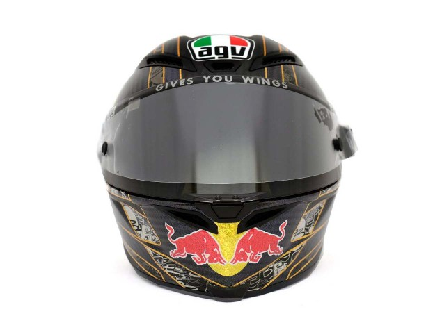 Photos: The Five AGV Pista GP Helmets in MotoGP AGV Pista GP MotoGP Stefan Bradl 05 635x465