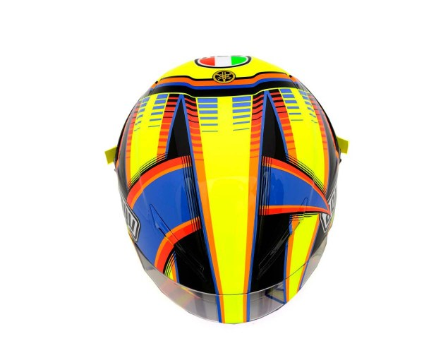 Photos: The Five AGV Pista GP Helmets in MotoGP AGV Pista GP MotoGP Valentino Rossi 1 635x500