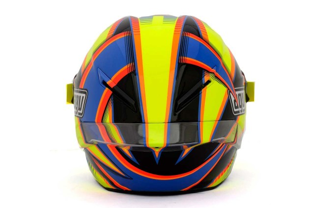 Photos: The Five AGV Pista GP Helmets in MotoGP AGV Pista GP MotoGP Valentino Rossi 3 635x423