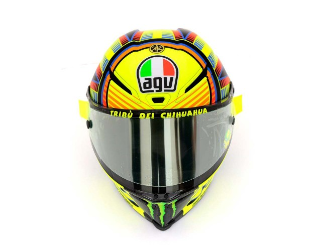 Photos: The Five AGV Pista GP Helmets in MotoGP AGV Pista GP MotoGP Valentino Rossi 5 635x500