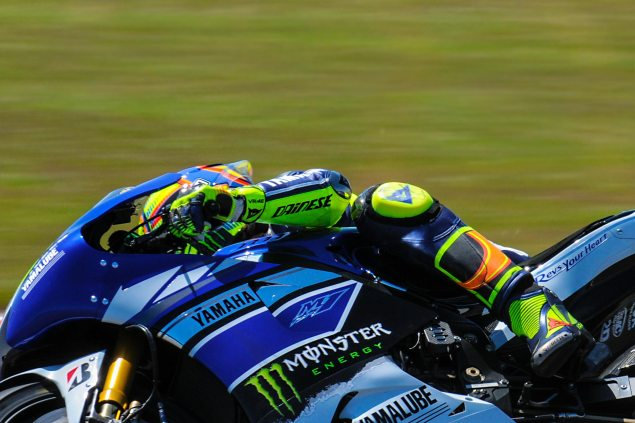 Up Close with the 2013 Yamaha YZR M1 Yamaha YZR M1 MotoGP Valentino Rossi Up Close 26 635x423