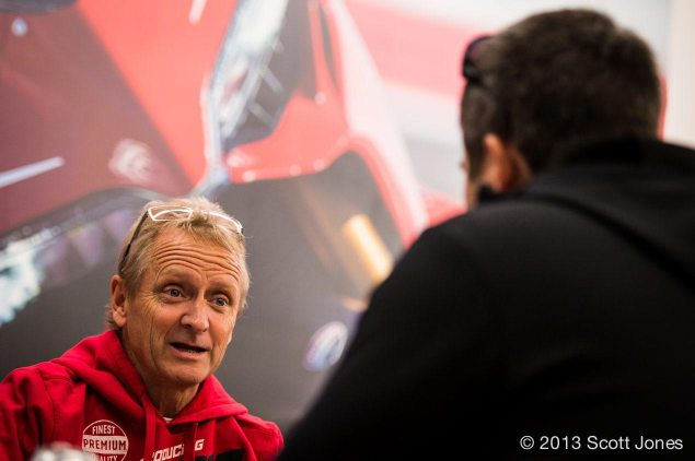Q&A: Kevin Schwantz Talks COTA, MotoGP, & the Future of American Road Racing kevin schwantz interview jensen beeler 635x422